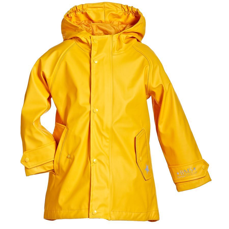 BMS HafenCity® SoftSkin® Regenmantel Punkte gelb