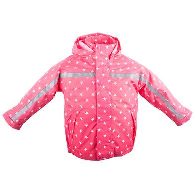BMS Regenjacke Buddel Sterne pink Gr.Babymode (6 24 Monate) Mädchen