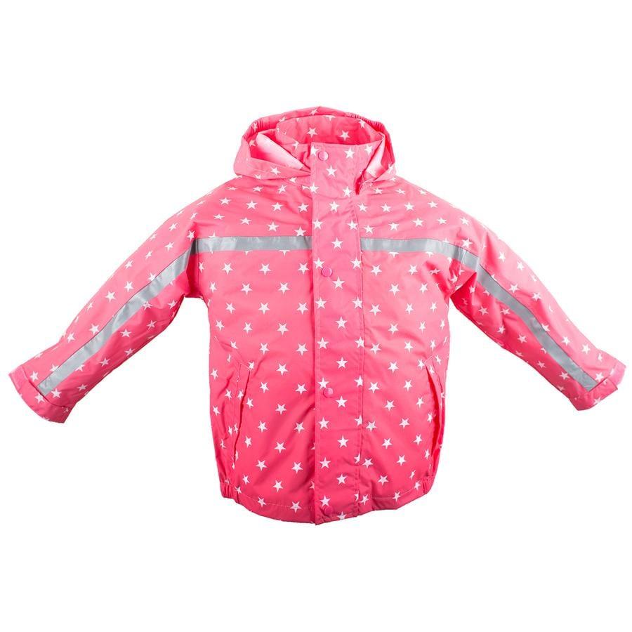 BMS Regenjacke Buddel Sterne pink
