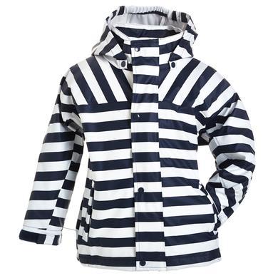 BMS Regenjacke Buddel Streifen marine blau Gr.Babymode (6 24 Monate) Unisex