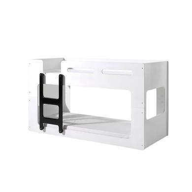 Kinderbetten - VIPACK Halbhochbett Luca weiß Gr.90x200 cm  - Onlineshop Babymarkt