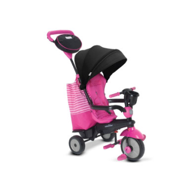 smarTrike ® 4 in 1 Dreirad Swing DLX, pink rosa pink