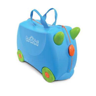 trunki dětský kufřík odrážedlo Terrance modrý - modrá modrá