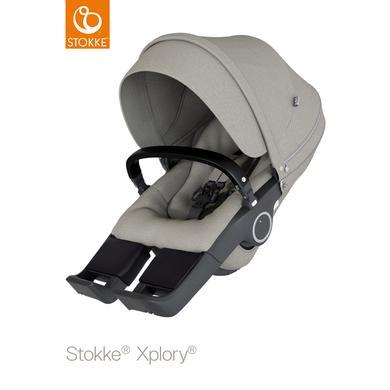 Stokke Sportwagenaufsatz Xplory® V6 und Trailz™ Brushed Grey