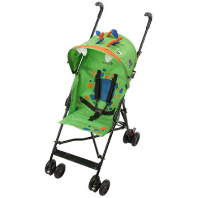 Safety 1st  Paraplyklapvogn Crazy Peps Spike - grøn