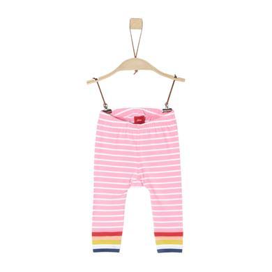 s.Oliver Hose light pink stripes rosa pink Gr.Babymode (6 24 Monate) Mädchen