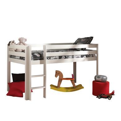Kinderbetten - VIPACK Spielbett Pino weiß Gr.90x200 cm  - Onlineshop Babymarkt