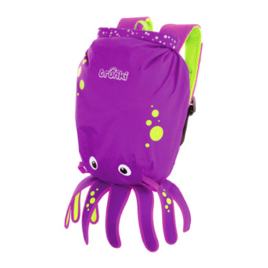 trunki PaddlePak Wasserfester Kinderrucksack Oktopus Inky lila
