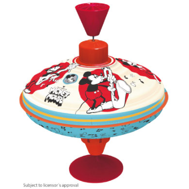 Bolz Hum spinning top Disney Mickey Mouse 16 cm