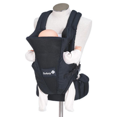 Safety 1st  Babytrage Uni-T Full Black - schwarz