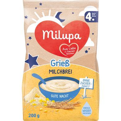 Milupa Milchbrei Gute Nacht Grieß 200 g ab dem 4. Monat