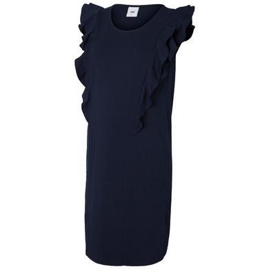 Schwangerschaftsmode für Frauen - mama licious Stillkleid MLOFELIA Black Iris blau Damen  - Onlineshop Babymarkt