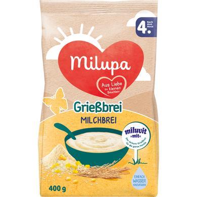 Milupa Grießbrei miluvit >>mit<< 400 g ab dem 4. Monat