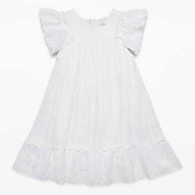 Minigirlroeckekleider - ESPRIT Girls Kleid white - Onlineshop Babymarkt