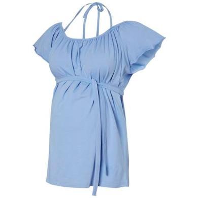 Schwangerschaftsmode für Frauen - mama licious Umstandsshirt MLPHIE Hydrangea blau Damen  - Onlineshop Babymarkt