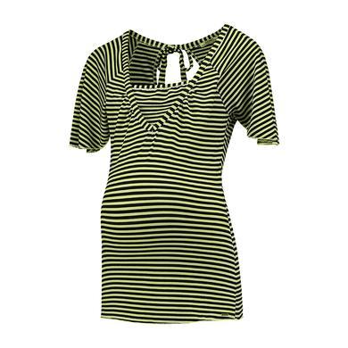 LOVE2WAIT Stillshirt Striped Lime - gelb - Gr.U...