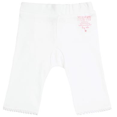 Staccato Girls Leggings offwhite weiß Gr.Newborn (0 6 Monate) Mädchen