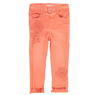 name it Girls Jeans Polly Twiabeth blooming dahlia orange Gr.Babymode (6 24 Monate) Mädchen