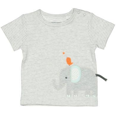 Staccato T-Shirt grau Streifen mit Elefant Gr.Newborn (0 6 Monate) Unisex