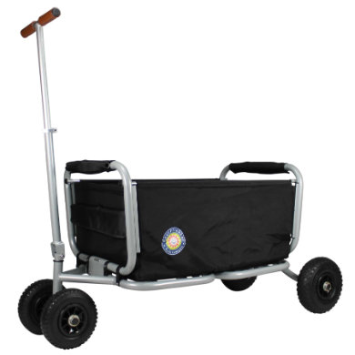 BEACHTREKKER Bollerwagen - Faltbarer Bollerwagen LiFe, schwarz