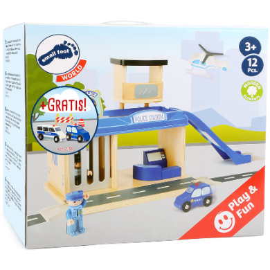 small foot ® Spielset: Polizeistation