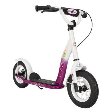 bikestar Kinderroller 10 Classic Berry Weiß lila