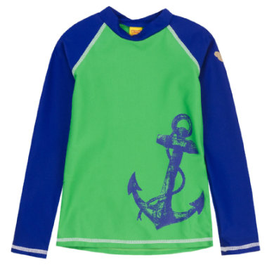 Steiff Boys UV Schutz Shirt, grün Gr.Babymode (6 24 Monate) Jungen