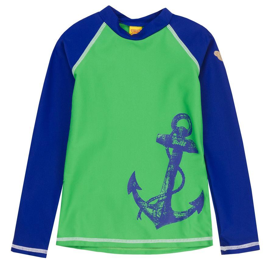Steiff Boys UV Schutz Shirt, grün