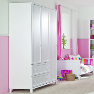 kleiderschrank drei schubladen weiss preisvergleich die besten angebote online kaufen. Black Bedroom Furniture Sets. Home Design Ideas