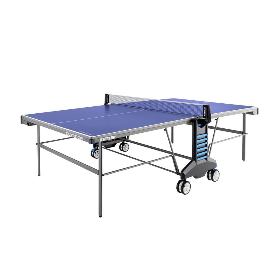 Tischtennisplatte OUTDOOR 4, blau/weiß