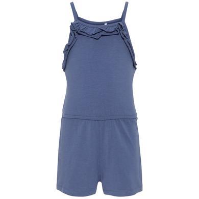 Minigirlhosen - name it Girls Jumpsuit Pia vintage indigo - Onlineshop Babymarkt