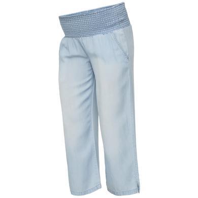 Image of mama licious Pantaloni premaman MLELIANA Light Blue Denim