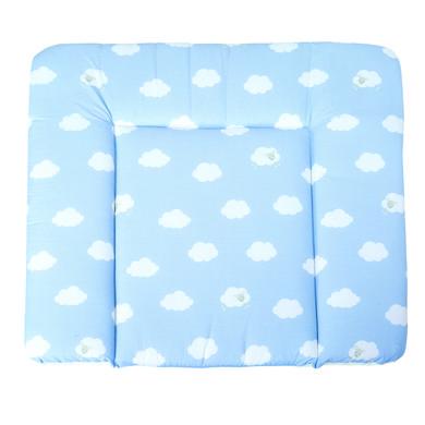 Wickelmöbel und Zubehör - roba Wickelauflage soft Kleine Wolke blau 85 x 75 cm  - Onlineshop Babymarkt