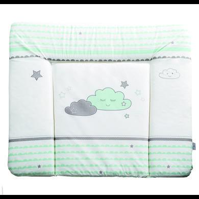 Wickelmöbel und Zubehör - roba Wickelauflage soft Happy Cloud 85 x 75 cm weiß  - Onlineshop Babymarkt