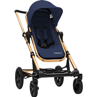BRITAX Seed Papilio Copper dark navy  black leather 2019