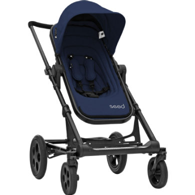 BRITAX Seed Papilio Black dark navy  black leather 2019