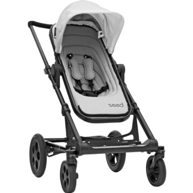 BRITAX Seed Papilio Black grey melange  black leather 2019