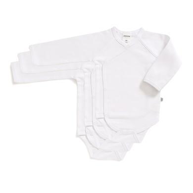 Babywaesche - Jacky Wickelbody 3er Pack BASIC weiß – Gr.56 – Unisex - Onlineshop Babymarkt