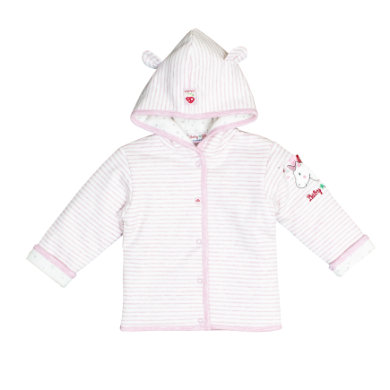 Salt and Pepper BabyGlück Sweatjacke sweet rose melange rosa pink Gr.62 Mädchen