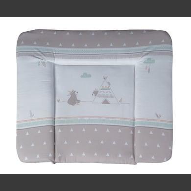 Wickelmöbel und Zubehör - roba Wickelauflage soft Indibär 85 x 75 cm grau  - Onlineshop Babymarkt