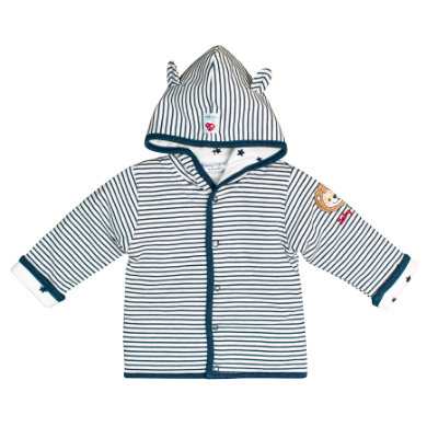 Salt and Pepper BabyGlück Sweatjacke indigo blue melange blau Gr.56 Jungen