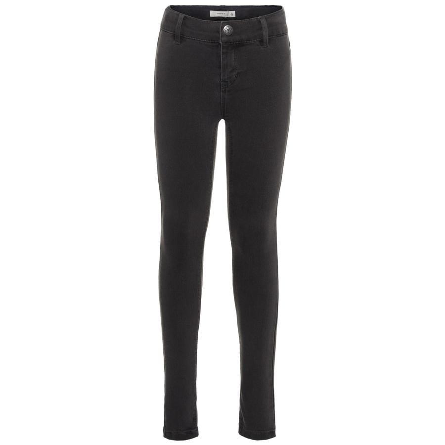 name it Girls Jeans Polly dark grey denim