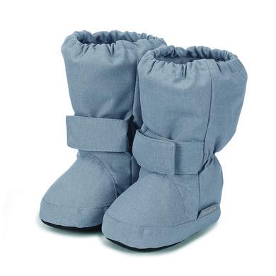 Babyschuhe - Sterntaler Baby–Schuh silber melange – grau – Gr.17 18 – Unisex - Onlineshop Babymarkt