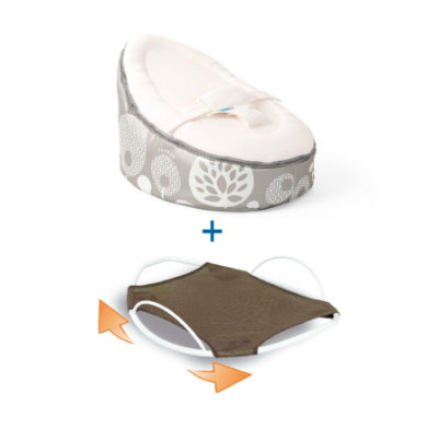 Sitzmöbel - Doomoo Seat Set Sitzsack Swing Wippe Tree silber grau  - Onlineshop Babymarkt