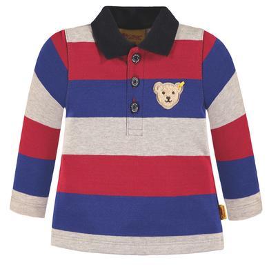 Steiff  Boys Poloshirt, gestreift - bunt - Gr.74 - Jungen