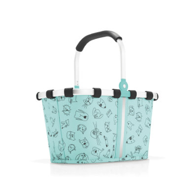 reisenthel ® carrybag XS kids cats and dogs mint - tyrkysová