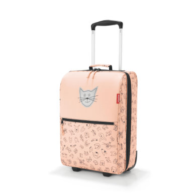 reisenthel ® trolley XS kids cats and dogs rose - oranžová