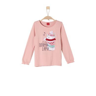 Minigirloberteile - s.Oliver Girls Langarmshirt dusty pink - Onlineshop Babymarkt