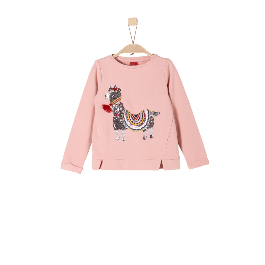 s.Oliver Girls Sweatshirt dusty pink