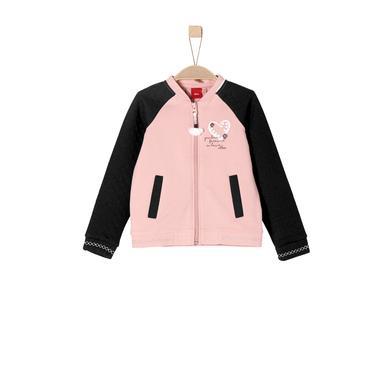 Minigirljacken - s.Oliver Girls Sweatjacke dusty pink - Onlineshop Babymarkt